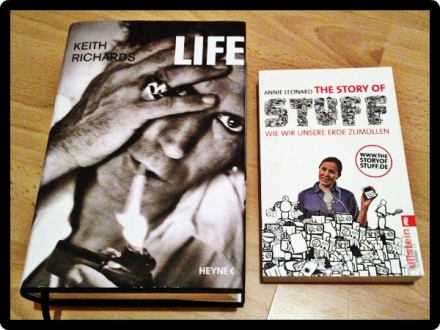 keith richards life, the story of stuff